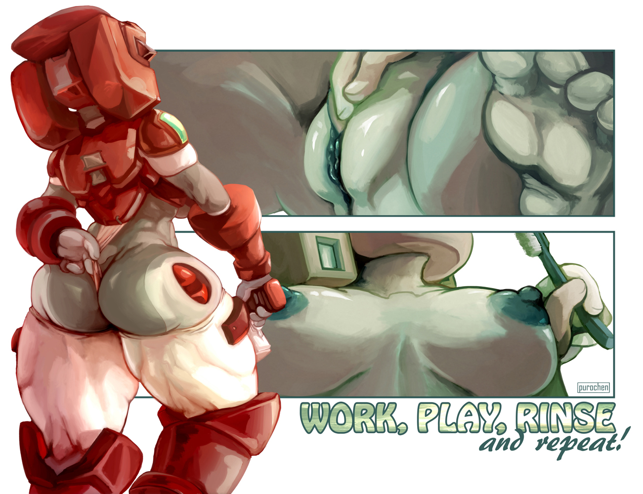 Hentai Proxy pertaining to purochen's smut art lair. highly nsfw, 18+ only. enjoy!